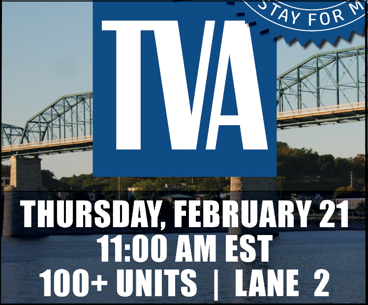 TVA vehicle auction